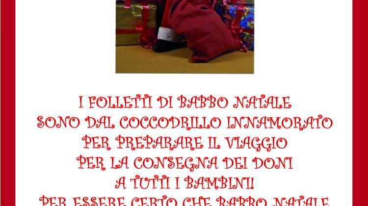Al Coccodrillo Innamorato sono arrivati i folletti di Babbo Natale!