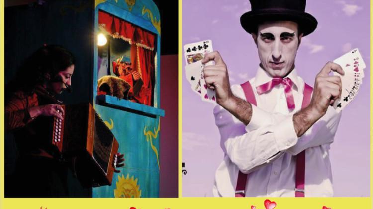 Stage di magia e teatrino dei burattini!